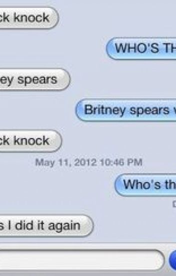 THE MOST korny KNOCK KNOCK :)
