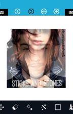 Sticks and stones (zayn malik) by stilllemonade