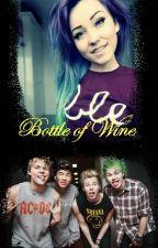 Bottle of wine by IdaBckman