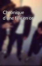 Chronique d'une fille en or by YounesElHamir