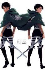 Fighting over me (Levi x Reader x Eren) by imQueenOfTheCastle