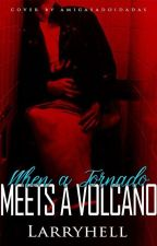 When a Tornado Meets a Volcano   larry by larryhell