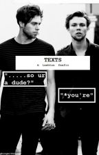 Texts | Lashton by LaughingwithLarry