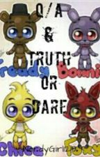 Question and Answer/Truth or Dare: FNAF STYLE by NerdyGirl1219