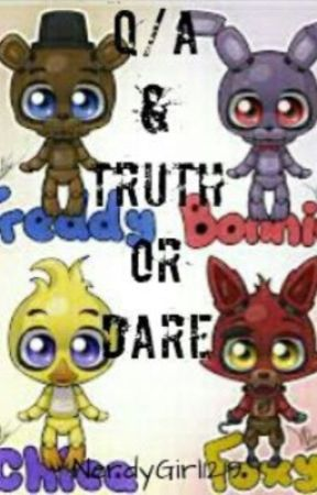 Question And Answertruth Or Dare Fnaf Style The Best Time To