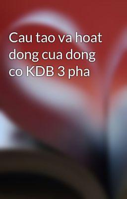 Cau tao va hoat dong cua dong co KDB 3 pha