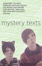 mystery texts // phan by phanksforthememories