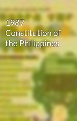 1987 Constitution of the Philippines