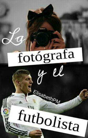 La fotógrafa y el futbolista.
