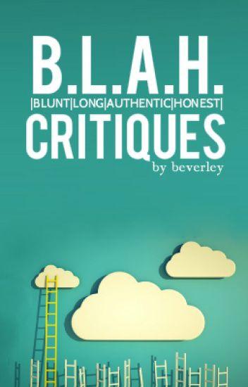 B.L.A.H. critiques
