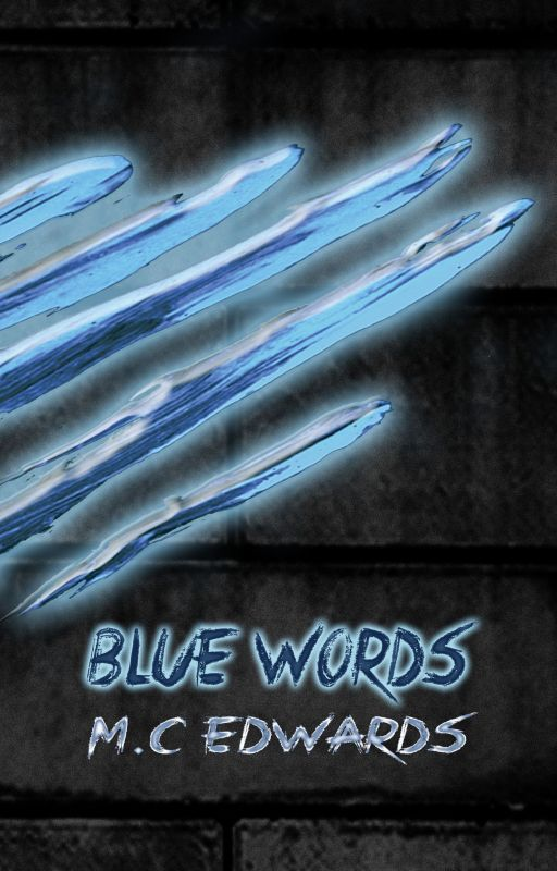 Blue Words by MCEdwards