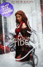 A Crimson Tide ✔ (A Red Riding Hood Retelling) by blackrosedrop