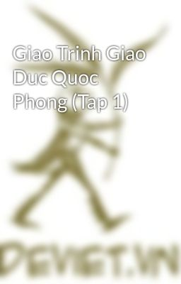 Giao Trinh Giao Duc Quoc Phong (Tap 1)