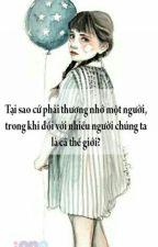 BỞI VÌ BẠN ĐÃ MẤT TRINH __ TRANG HẠ by NguyenThao674