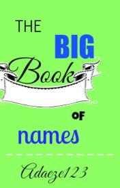 The Big Book Of Names by Adaeze123