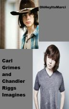 Carl Grimes and Chandler Riggs Imagines by OhHeyItsMarci