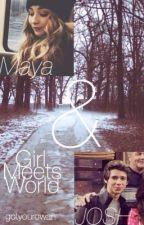 Maya & Josh (girl meets world) by gotyouRowan
