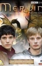 Merlin and Arthur-Two Sorcerers by gracieq2001