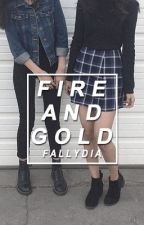 Fire And Gold by fallydia
