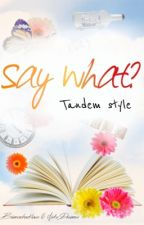 Say What? Tandem Style by BB_kpopgirl