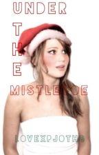 Under the Mistletoe (A HG Christmas One Shot) by peetasfavoritebuns