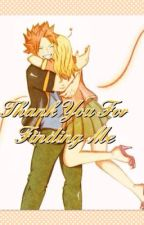 Thank You For Finding Me by _NashiDragneel_