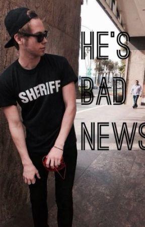 He's Bad News [Lashton AU] by unpunkash