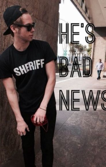 He's Bad News [Lashton AU]