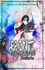 Paint My World (SaiSaku) [One Shot] || Naruto by JoelleAu