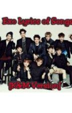 Exo Lyrics of Songs [K & M Version] by AshleyPark61