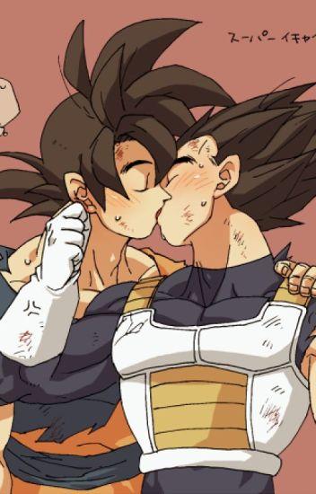 I love you (Goku x Vegeta Yaoi)