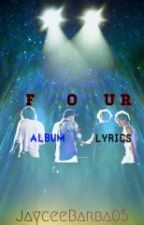 Four Album Lyrics by mysteriousxangel