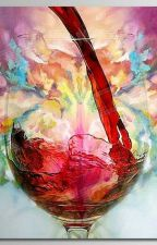 Красный след от разбитой бутылки  by _MERELINE_