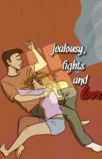 Jealousy, fights and love (stalia) by maliastates