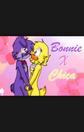 Chica x Bonnie  :3 by Cookiesaremyfave