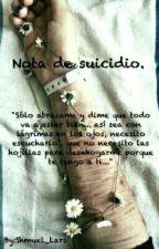 Nota de suicidio. by Shmuel_Lars