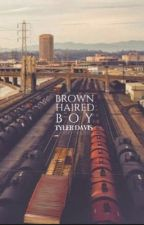 brown haired boy by flawed-