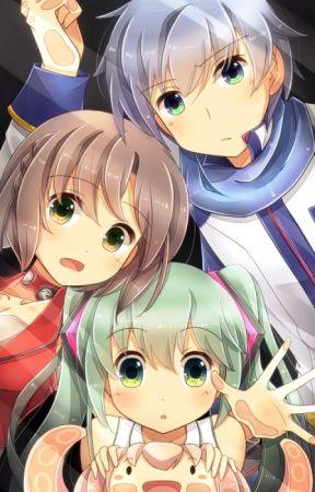 Vocaloids x reader (CLOSE) - Brother Yuuma x sister reader