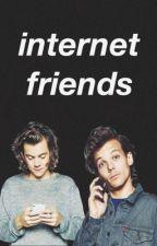 internet friends ➳ louis & harry by tmhlarry