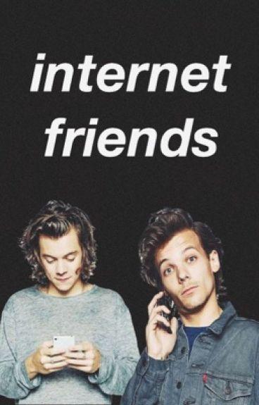 internet friends ➳ louis & harry