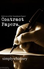 Contract Papers by simplywhimsey