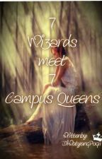 7 Wizards meets 7 Campus Queens by DiwatangPogii