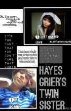 Hayes Griers Twin Sister by AlexTheUnicorn52