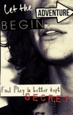 Foul play is better kept Secret Larry AU by booandhazzababe