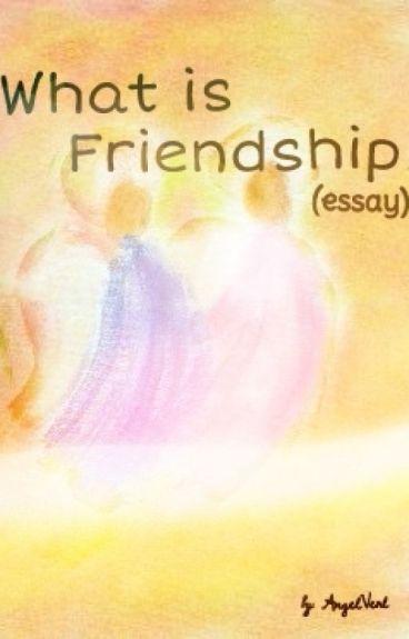 friendship what is it essays