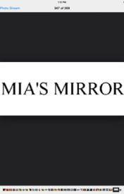 Mia's Mirror        By Brynn griffin by llineboy12