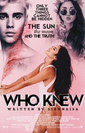 Who Knew • jb