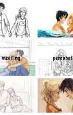 Meeting percabeth by -newt_limps-