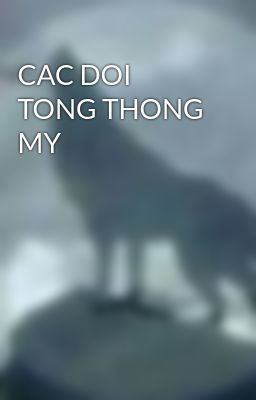 CAC DOI TONG THONG MY