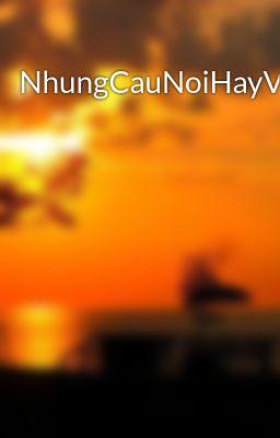 Đọc truyện NhungCauNoiHayVeTinhYeu